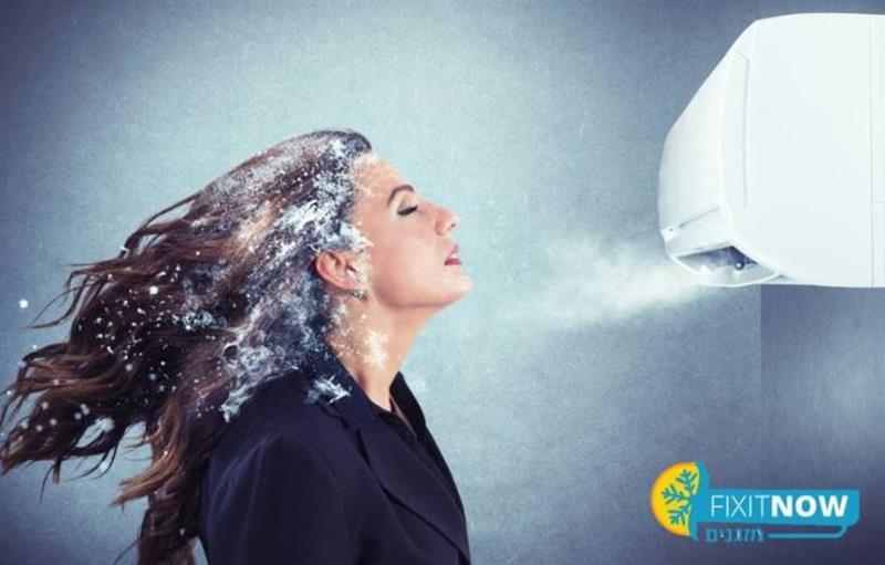 תיקון מזגן מוציא אוויר ולא מקרר