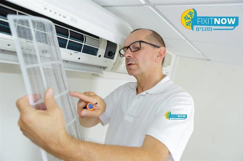 תיקון פילטר אוויר במזגן